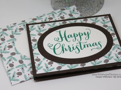 Crafty Christmas Countdown #20 - Gift Card Holder with Matching Envelope