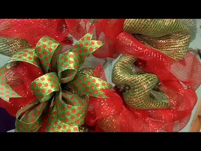 Deco Mesh Christmas Video Clips