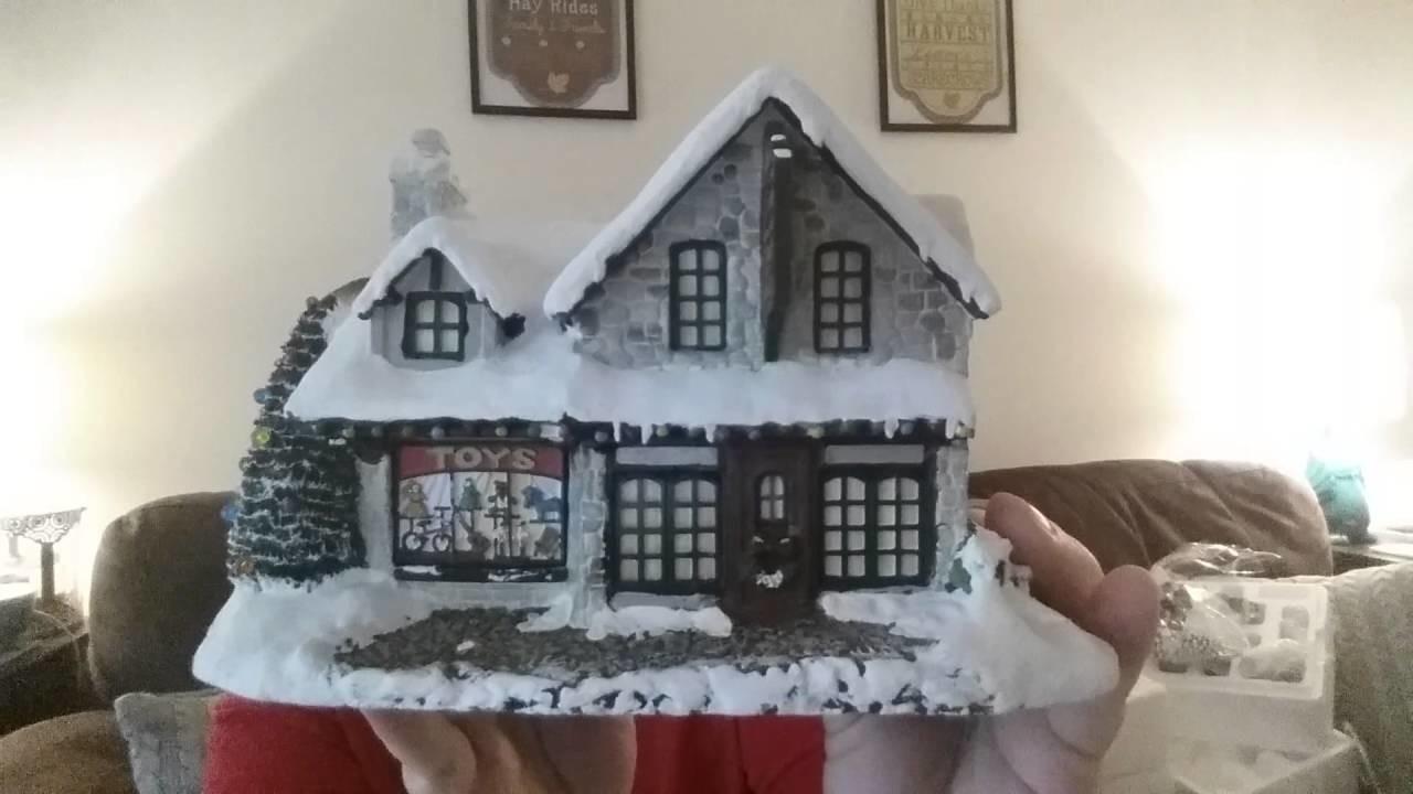Haul #10 Christmas decor Christmas village reveal Thomas Kinkade