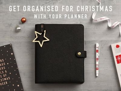 How to Organise for Christmas using your Planner