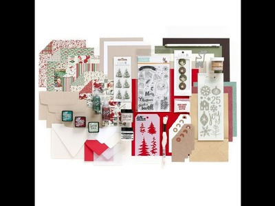 Limited Edition Simon Says Stamp Holiday Card Kit CHRISTMAS 2016 Unboxing!