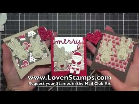 Make A Merry Banner: Santa and His Cookie Cutter Christmas Reindeer