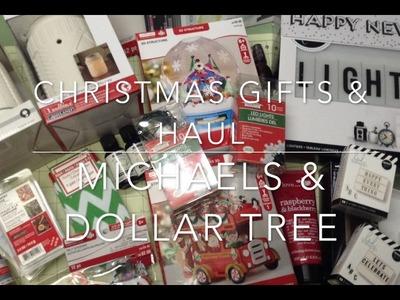 Michael's Christmas Gift Haul + Bonus Dollar Tree Haul