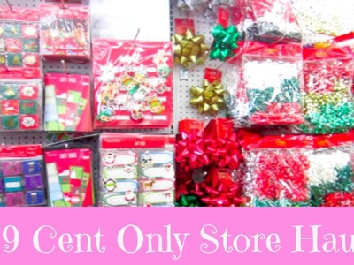 NEW 99 Cent Only Store Haul! More Christmas Goodies!