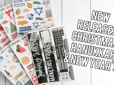 New Releases: Christmas, Hanukkah & New Years!