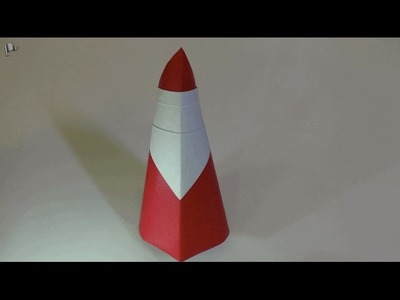 Origami 【3D Santa Claus】 Christmas
