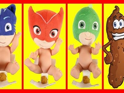 PJ Masks Mold 'n Play  Softee Dough Figure Maker DIY Disney Play Doh Catboy Owlette