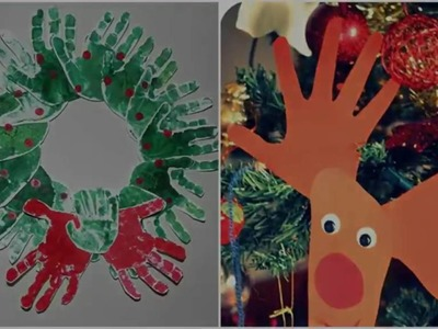 Simple Christmas Crafts for Kids - Christmas 2016