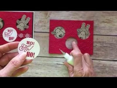 Stampin' Up! Cookie Cutter Christmas Peekaboo Card