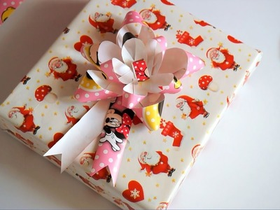Surprise Present Gift Box Wrapping DIY for Christmas