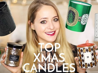 Top 10: CHRISTMAS CANDLES! | Fleur De Force