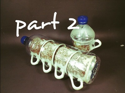 3 Ide Kreatif Dari Botol Bekas(Lifehack,Diy) Part 2