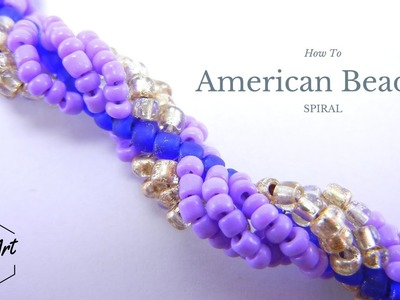 American Beaded Spiral | Beading Tutorial