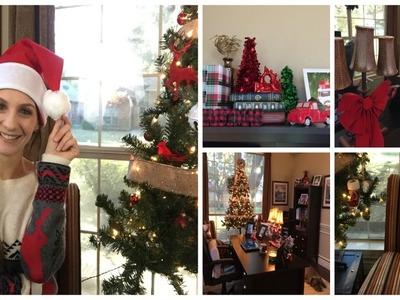 CHRISTMAS ROOM TOUR | HOME OFFICE 2016
