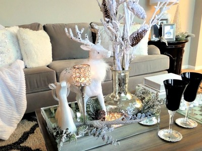 Coffee Table Styling | Christmas Decor Ideas