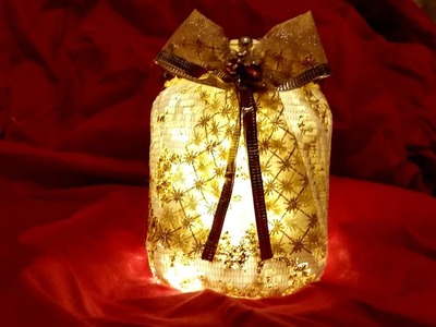 Decorative Christmas Lantern  .   really easy to make