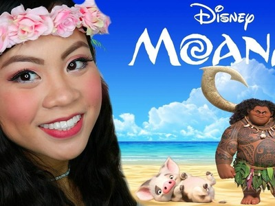 Disney's MOANA-Inspired Makeup Tutorial   Little Red Alice