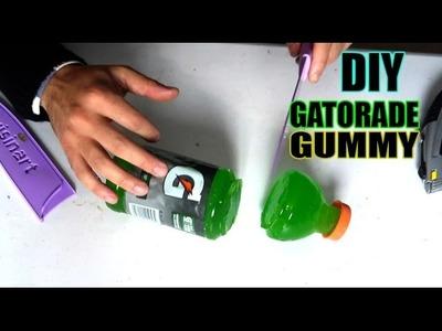 DIY Make a GATORADE GUMMY!!
