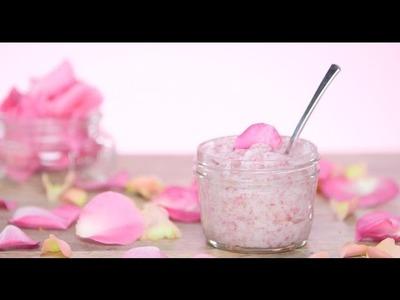 DIY Rose Sugar Scrub | Beauty Junkie