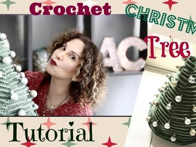 Easy Crochet Christmas Tree Tutorial