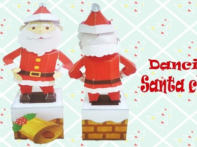 Handmade Dancing Santa Claus - Christmas toys craft