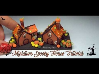 Miniature Spooky House Tutorial-Polymer Clay