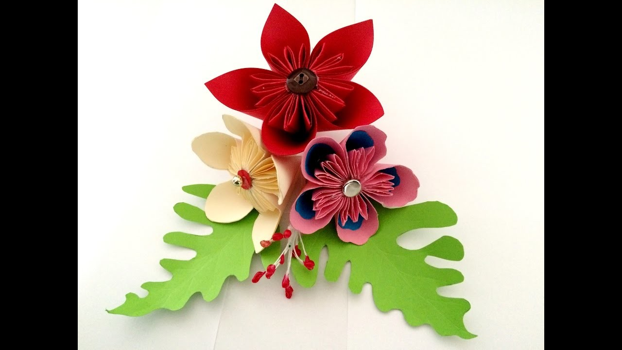 Paper Flower Easy Tutorials Origami Flower Party Decoration