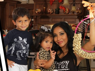 Snooki's Squirrel Feeder DIY with Lorenzo & Giovanna!