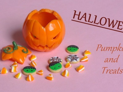 [Stop Motion] Halloween Treats & Pumpkin Tutorial. Citrouille & Bonbons d'Halloween