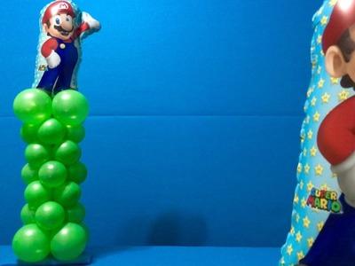 Super Mario Balloon Decoration Tutorial