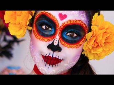 The Book of Life: La Muerte.Makeup Tutorial. Dia De Los Muertos