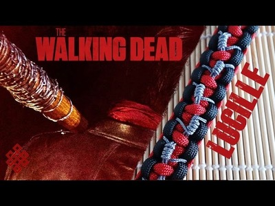 The Walking Dead Negan and Lucille Paracord Bracelet Tutorial