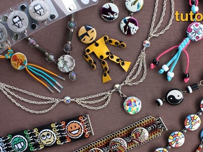 WIKarts Tutorial: Create Jewelry with Wire and Pinback Buttons