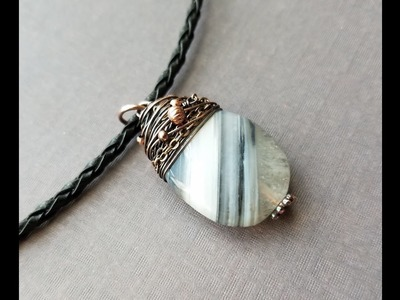 Wire Wrapping Tutorial - Twisted Wraps Earrings and Necklace