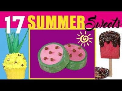 17 SUMMER TREATS! Popsicles, Ice Creams, Pineapples, Watermelons AND MORE! Lots More.