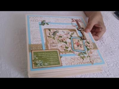 Album em Scrapbook - Presentes Artesanais