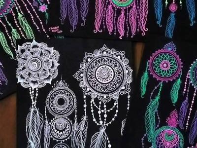 Art Projects: Dream Wonderland | Creative Neon Dream Catchers Tutorial