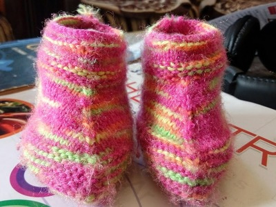 Baby Booties | Easy Knitting