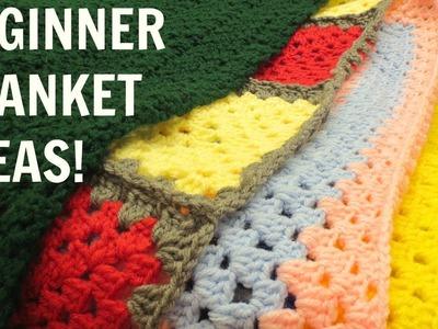 Blankets I've Made | Beginner Blanket Ideas