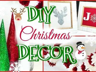 DIY ROOM DECOR IDEAS! 6 DIY Projects for Christmas & Winter!   | Lindssey Lew