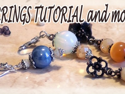 Easy earrings tutorial - What is beading to me, What beading means to me