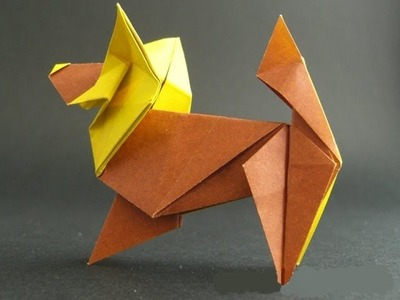 Easy Origami : the Dog