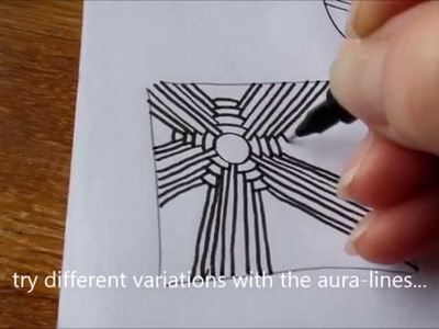 How to draw tanglepattern Arukas