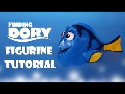 How To Make Dory Figurine Tutorial - Fondant Cake Topper