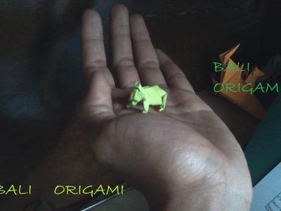 How to make Origami Bear ( John montroll)