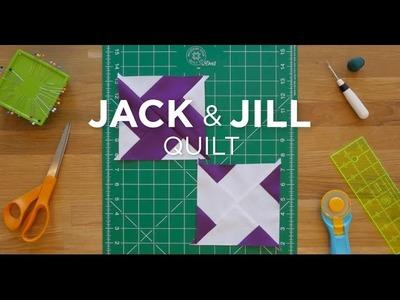 Make a Jack and Jill Quilt Block - Quilt Snips