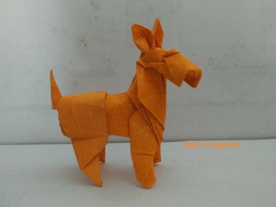 Origami Dog Fox Terrier (Roman Diaz) Part 1
