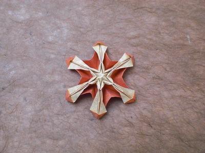 Origami Pumpkin Flake (Alexander Kurth) Tutorial