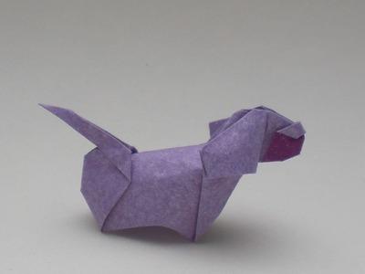 Origami Simple dog (Barth Dunkan) Tutorial