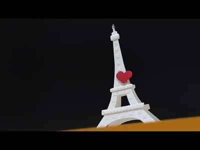 Paris: Eiffel Tower Pop Stand Die